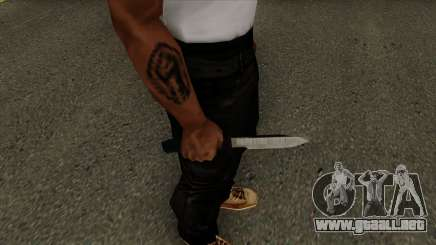 Knife Default HQ para GTA San Andreas