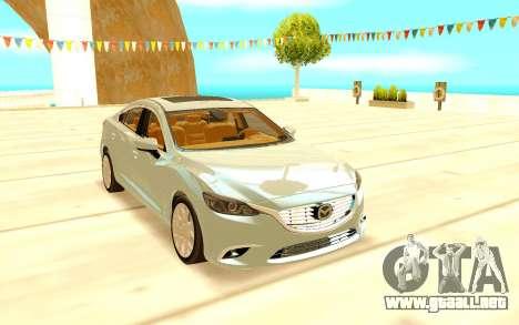Mazda 6 para GTA San Andreas