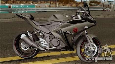 Yamaha YZF R3 para GTA San Andreas