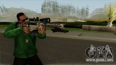 Remington MSR para GTA San Andreas