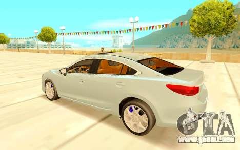 Mazda 6 para la visión correcta GTA San Andreas