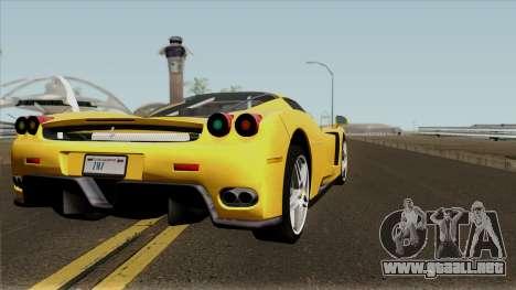 Ferrari Enzo 2003 para la visión correcta GTA San Andreas