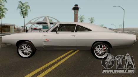 Dodge Charger RT 1970 FnF 7 para GTA San Andreas left