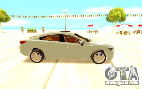 Mazda 6 para GTA San Andreas left
