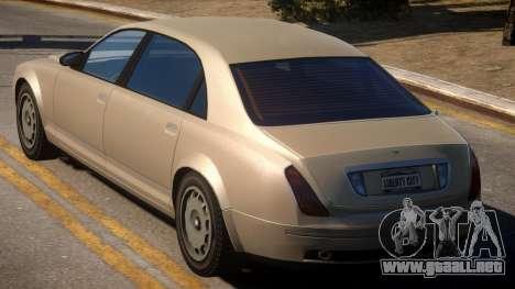 Cognoscenti to Bentley Continental GT para GTA 4