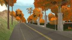 Las Hojas de otoño en los Árboles v1.0 para GTA San Andreas