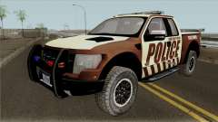 Ford F-150 Raptor 2016 Bone County Police para GTA San Andreas