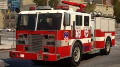 Fire Truck Real New York para GTA 4