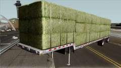 Alfalfa Bale Trailer para GTA San Andreas