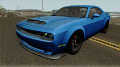 Dodge Challenger Demon 2017 para GTA San Andreas