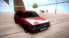 Volkswagen Golf 2 para GTA San Andreas