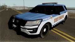 Ford Explorer 2012 Red County Police para GTA San Andreas