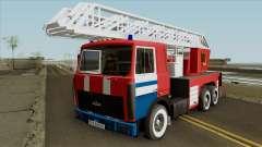 MAZ 650136 AL-50 de la República de Belarús para GTA San Andreas