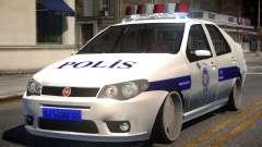 Fiat Albea Turk Police para GTA 4