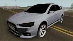 Mitsubishi Lancer Evolution X Light Tuning para GTA San Andreas
