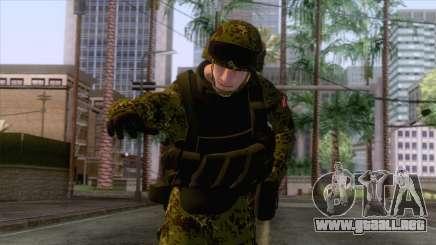Denmark Army Skin para GTA San Andreas