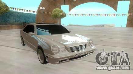 Mercedes-Benz E55 W210 белый para GTA San Andreas