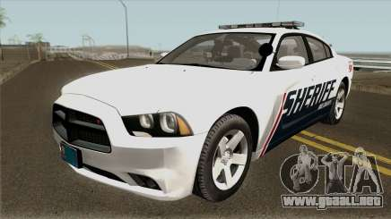 Dodge Charger Red County Sheriff Office 2013 para GTA San Andreas