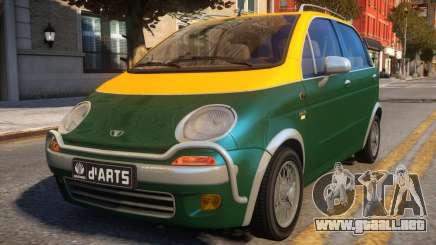 1997 Daewoo dArts City Concept para GTA 4