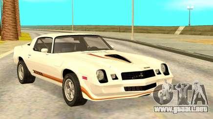 Chevy Camaro 1977 para GTA San Andreas