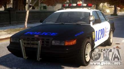 GTA 5 Vapid Police para GTA 4