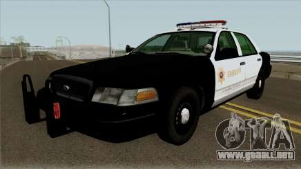 Ford Crown Victoria Police Interceptor (SASD) v1 para GTA San Andreas