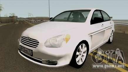 Hyundai Accent 2007 para GTA San Andreas