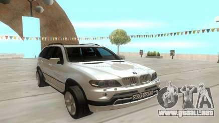 BMW X5 E53 para GTA San Andreas