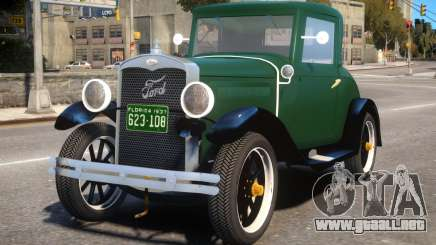Ford Coupe 1927 para GTA 4