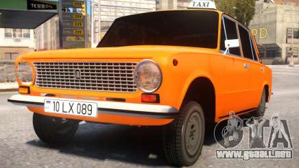 VAZ 21011 Taxi Style By Nicat para GTA 4