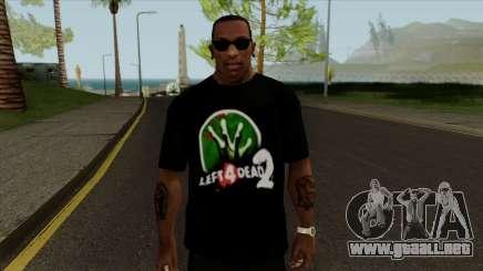 T-Shirt Let 4 Dead 2 para GTA San Andreas
