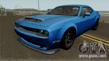 Dodge Challenger Demon 2017 para GTA San Andreas