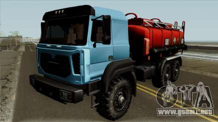 Ural-5557-80M Cisterna para GTA San Andreas