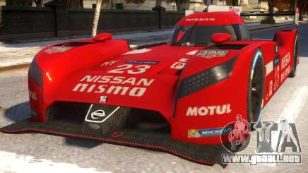 Nissan GTR LM para GTA 4