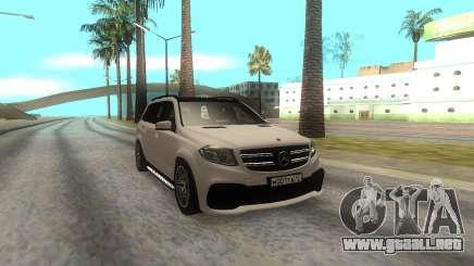 Mercedes-Benz AMG GLS63 para GTA San Andreas