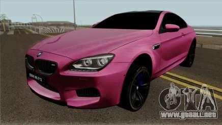 BMW M6 F13 Akrapovic para GTA San Andreas