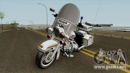 Harley-Davidson FLH 1200 Policía de Ucrania para GTA San Andreas