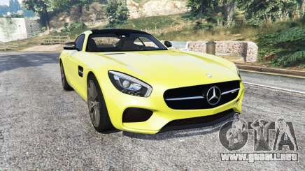 Mercedes-AMG GT (C190) 2016 v2.2 [add-on] para GTA 5