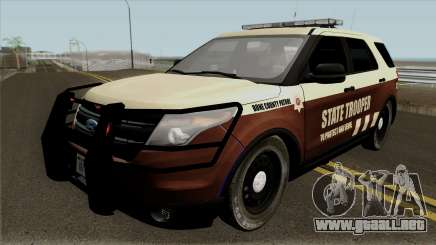 Ford Explorer 2012 Bone County Police para GTA San Andreas