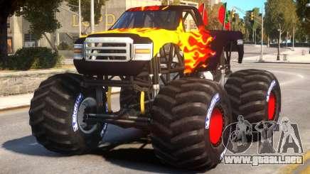 Monster Truck V.1.4 para GTA 4