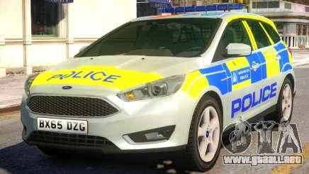 Police Ford Focus Estate para GTA 4