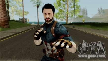 Avengers Infinity War - Captain America (Nomad) para GTA San Andreas