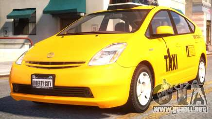 Toyota Prius II Liberty City Taxi para GTA 4