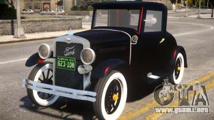 Ford Coupe 1927 V2 para GTA 4