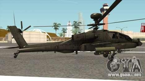 AH-64D Philippine Air Force para GTA San Andreas