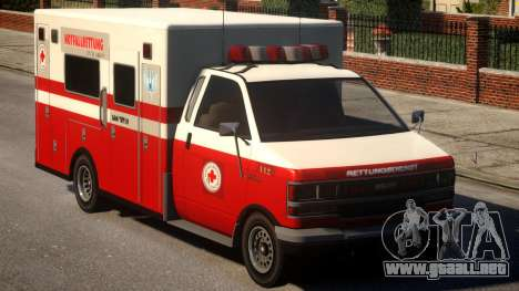 German Krankenwagen para GTA 4