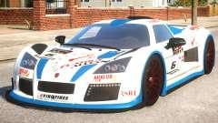 2011 Gumpert Apollo S N6 para GTA 4