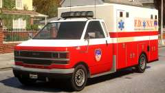 Ambulance New York City para GTA 4