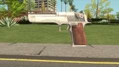 Desert Eagle Silver para GTA San Andreas