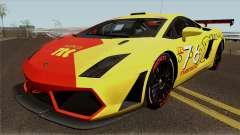 Lamborghini Gallardo Pac Racing Club para GTA San Andreas